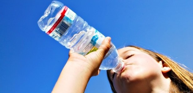 afvallen water drinken