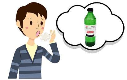 У дитини з рота пахне ацетоном – причини і лікування