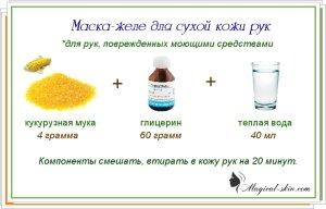 Рецепт при сухой коже лица в домашних условиях