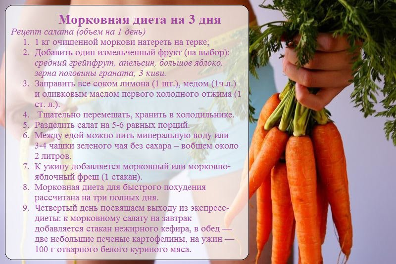 Помогает Ли Морковь Для Похудения.