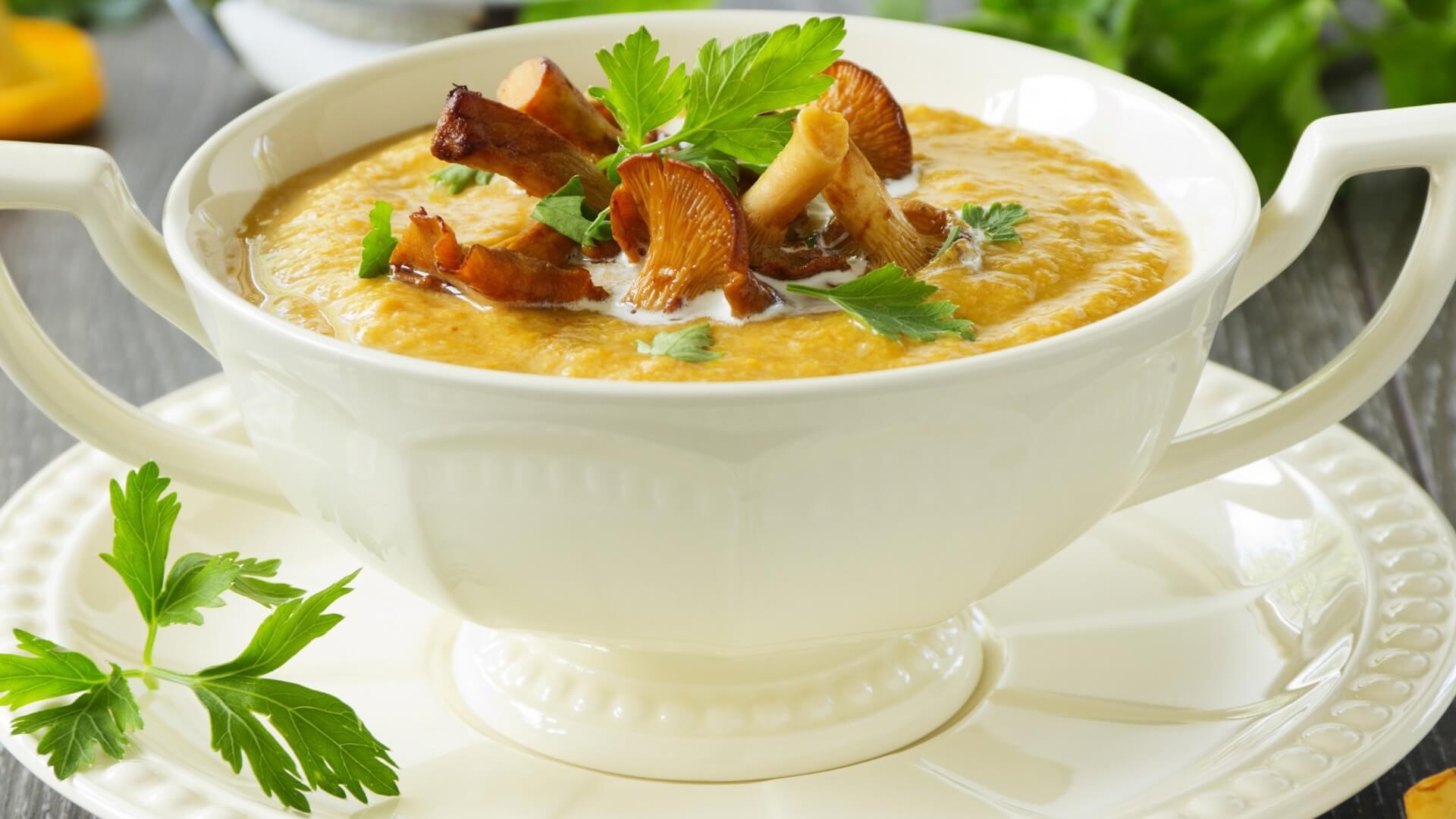 Рецепт грибной суп из лесных грибов рецепт