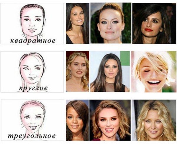 Какие прически смягчают лицо