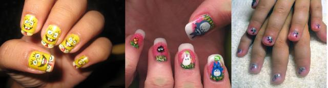 идеи для маникюра в домашних условиях на коротких ногтях фото