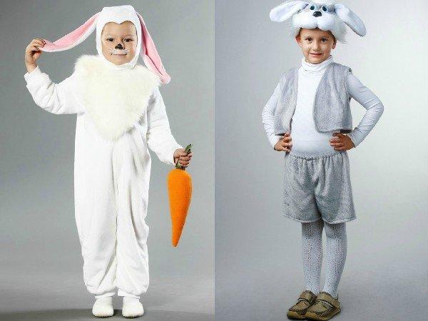 Костюм зайца. своими руками 730