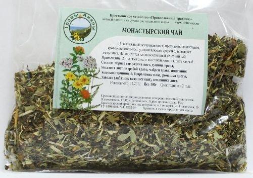 Монастырский сбор чай от алкоголизма