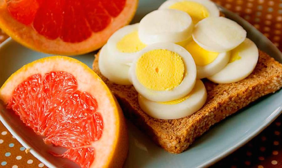 Меню яично грейпфрутовой диеты