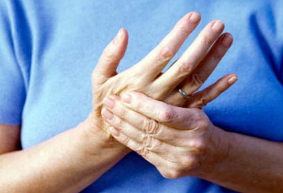 Немеют концы пальцев рук