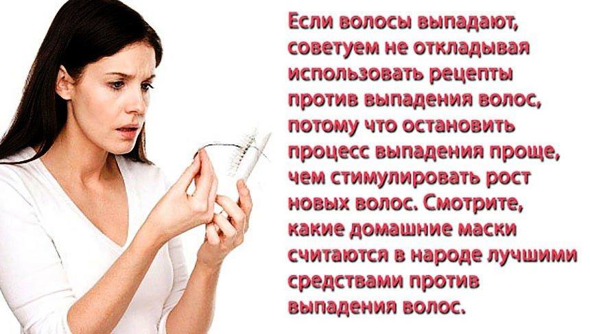 Маска против выпадения волос в домашних условиях на меде
