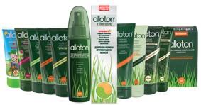 Використання косметики для волосся Аллотон, склад препаратів