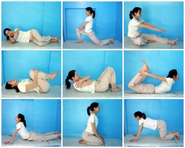 Лечебная физкультура при поясничных протрузиях