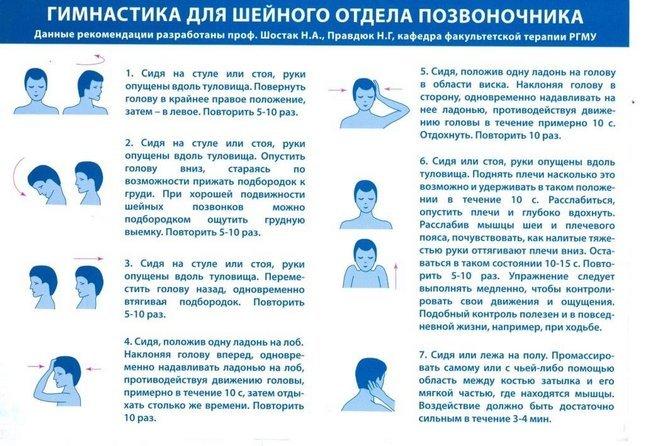 Лечение в домашних условиях при остеохондрозе шейного отдела позвоночника