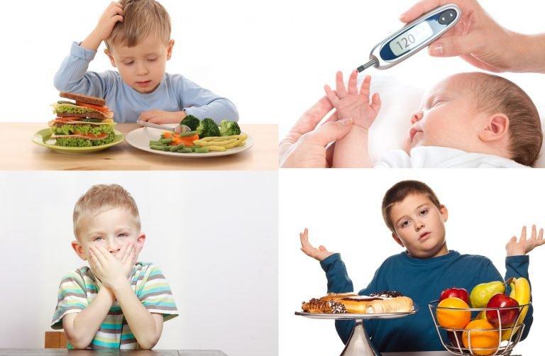 Сахарный диабет у детей до 6 лет