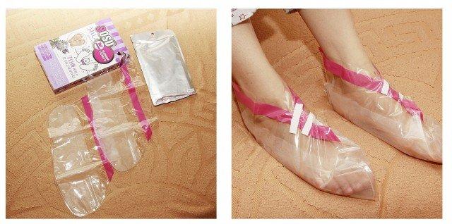 Как правильно пользоваться китайскими носочками для педикюра