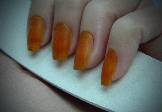 Укрепление ногтей перцем